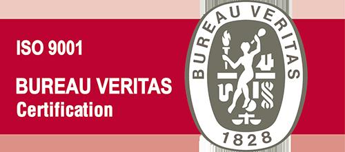 Certificación Bureau Veritas ISO 9001